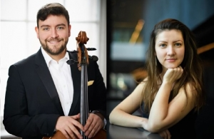 Coffee Concert: Toby White (cello) and Marina Staneva (piano) -