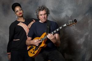 John Etheridge and Vimala Rowe -