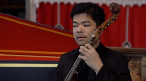 Ibrahim Aziz (viola da gamba) and Petra Hajduchova (harpsichord) - Online Cocktail Concert Series